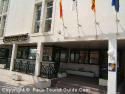 Airport Hotel Reus: The Hotel Quality Reus Entrance