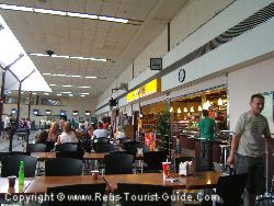 The Café Bar In The Departures Area Of Reus Airport