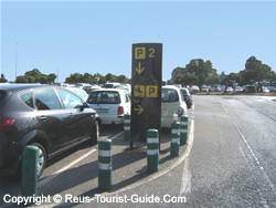 There Are Two Car Parks At Reus Airport