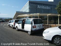 There Are Taxis At Reus Airport That Can Easily Hold Four People And Their Luggage