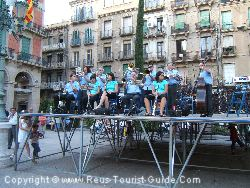 There Is Usually Music During The Holidays In Reus