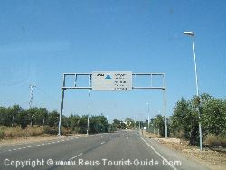The Entrance To Reus Airport Is Near To The Aeroclub